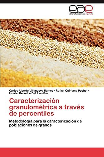 9783848471393: Caracterizacion Granulometrica a Traves de Percentiles