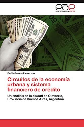 9783848472895: Circuitos de la economía urbana y sistema financiero de crédito: Un análisis en la ciudad de Olavarría, Provincia de Buenos Aires, Argentina (Spanish Edition)