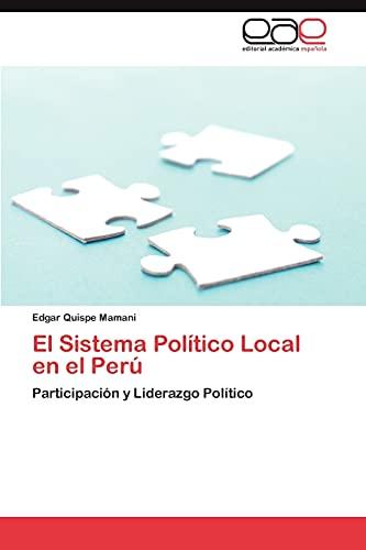 El Sistema Politico Local En El Peru: Edgar Quispe Mamani
