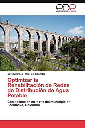 Optimizar La Rehabilitacion de Redes de Distribucion de Agua Potable: David Zamora