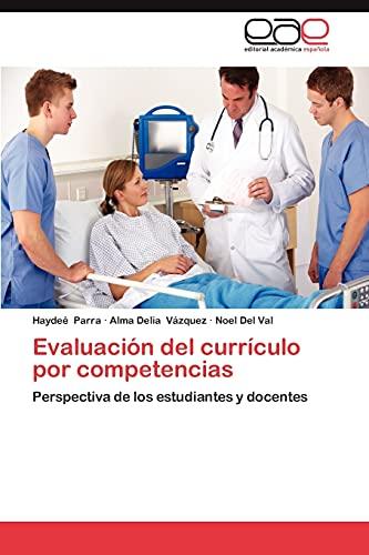 9783848476800: Evaluación del currículo por competencias: Perspectiva de los estudiantes y docentes