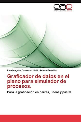 9783848477326: Graficador de datos en el plano para simulador de procesos.: Para la graficación en barras, líneas y pastel. (Spanish Edition)