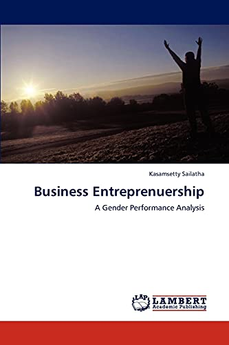 9783848480432: Business Entreprenuership: A Gender Performance Analysis