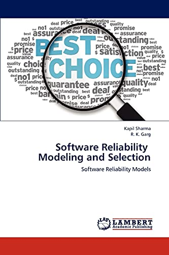 9783848481231: Software Reliability Modeling and Selection