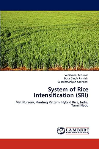 System of Rice Intensification (Sri): Veeramani Perumal