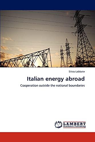 Italian Energy Abroad: Silvio Labbate