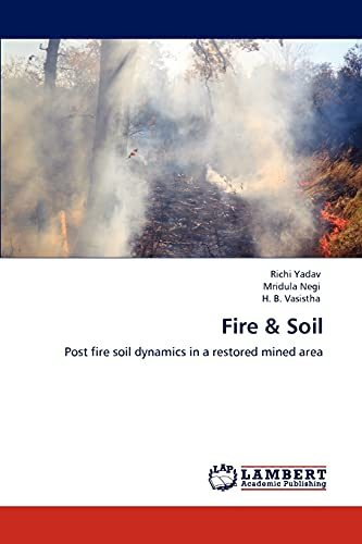 9783848486793: Fire & Soil: Post fire soil dynamics in a restored mined area