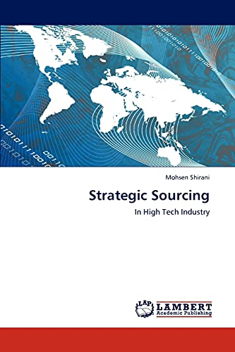 9783848489626: Strategic Sourcing: In High Tech Industry