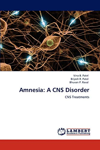 9783848491322: Amnesia: A CNS Disorder: CNS Treatments