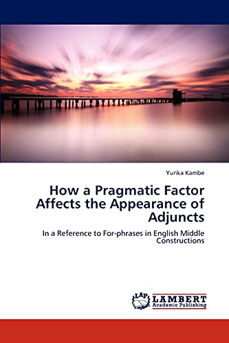 How a Pragmatic Factor Affects the Appearance: Yurika Kambe