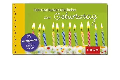 9783848510443: Überraschungs-Gutscheine zum Geburtstag