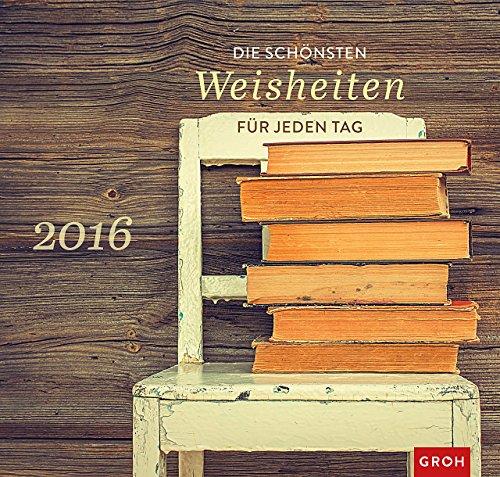 9783848512997: Die schönsten Weisheiten 2016