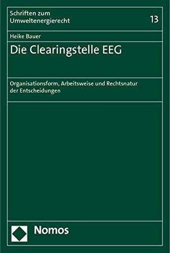 Die Clearingstelle EEG: Heike Bauer