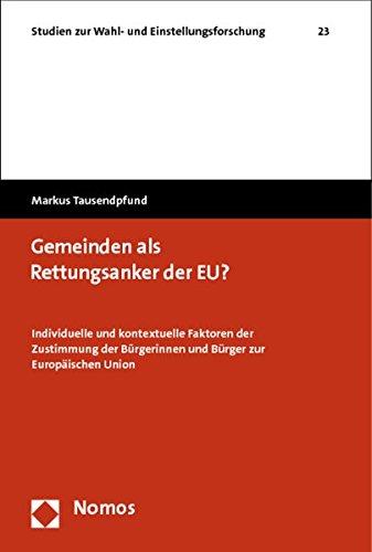 Gemeinden als Rettungsanker der EU?: Markus Tausendpfund