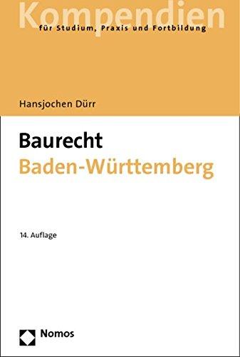 Baurecht Baden-Württemberg - Dürr, Hansjochen