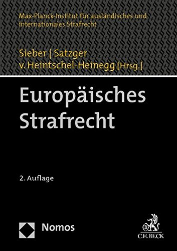 Europäisches Strafrecht: Ulrich Sieber