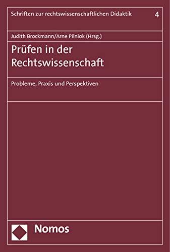 Prüfen in der Rechtswissenschaft: Judith Brockmann