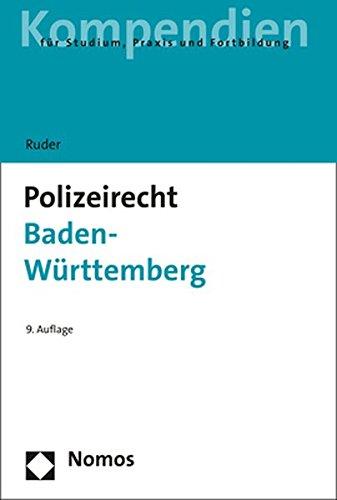 9783848702879: Polizeirecht Baden-Württemberg