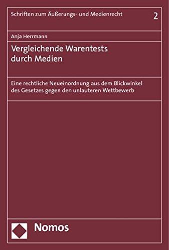 Vergleichende Warentests durch Medien: Anja Herrmann