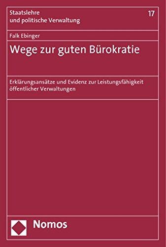 Wege zur guten Bürokratie: Falk Ebinger
