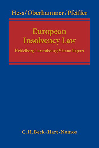 European Insolvency Law: Burkhard Hess
