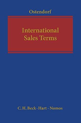 9783848704712: International Sales Terms (Kooperationswerke Beck - Hart - Nomos)