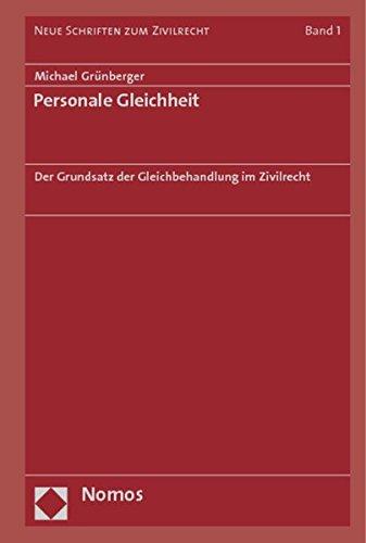 Personale Gleichheit: Michael Grünberger