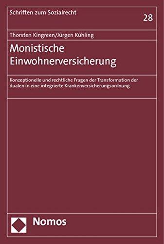 Monistische Einwohnerversicherung - Thorsten Kingreen