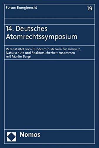 14. Deutsches Atomrechtssymposium: Martin Burgi