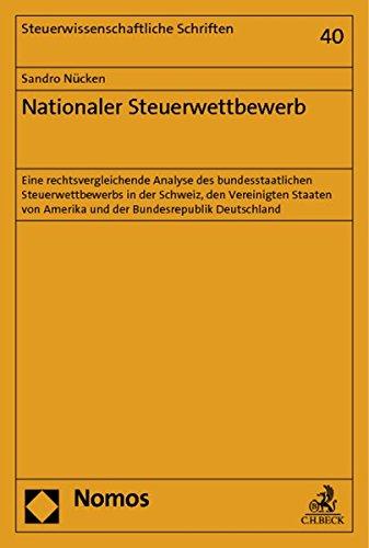 Nationaler Steuerwettbewerb: Sandro N�cken