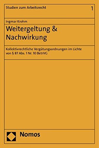 Weitergeltung & Nachwirkung: Ingmar Krohm