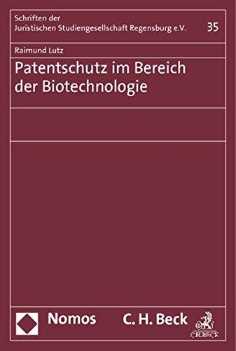 9783848709663: Patentschutz im Bereich der Biotechnologie