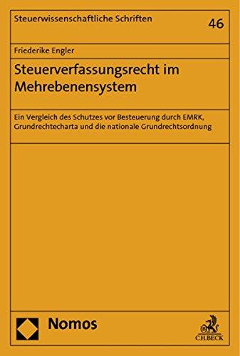 Steuerverfassungsrecht im Mehrebenensystem: Friederike Engler