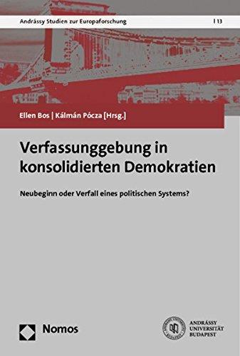 Verfassunggebung in konsolidierten Demokratien: Ellen Bos