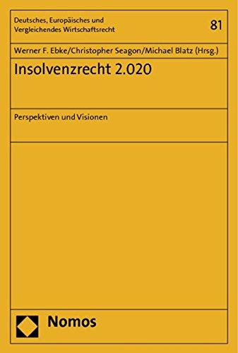 9783848710034: Insolvenzrecht 2.020: Perspektiven und Visionen