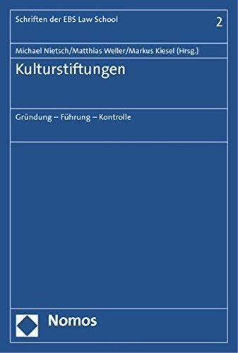 Kulturstiftungen: Michael Nietsch