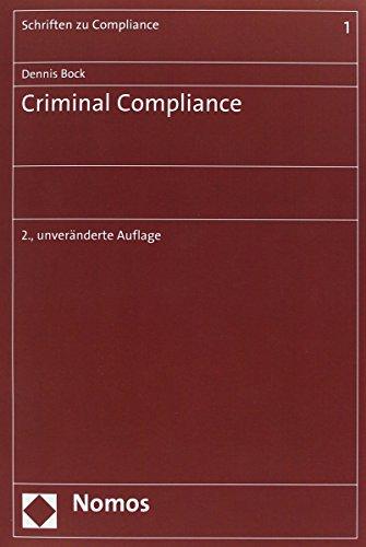 9783848710911: Criminal Compliance