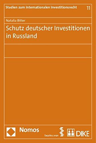 Schutz deutscher Investitionen in Russland: Natalia Bitter