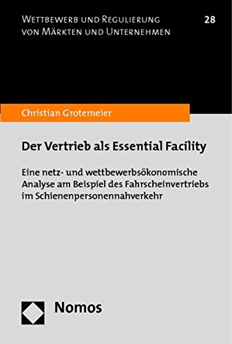 Der Vertrieb als Essential Facility: Christian Grotemeier