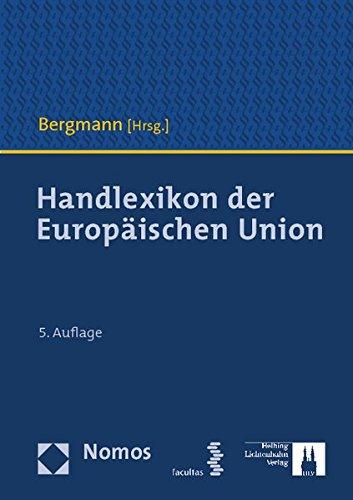 9783848713189: Handlexikon der Europäischen Union (German Edition)