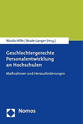 Geschlechtergerechte Personalentwicklung an Hochschulen: Nicola Hille