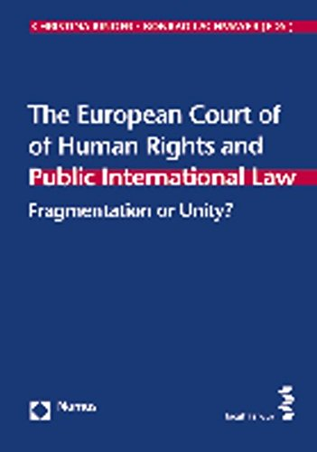 9783848714445: The European Court of Human Rights and Public International Law