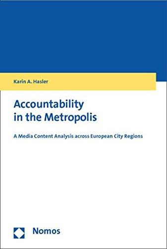 Accountability in the Metropolis: Karin A. Hasler