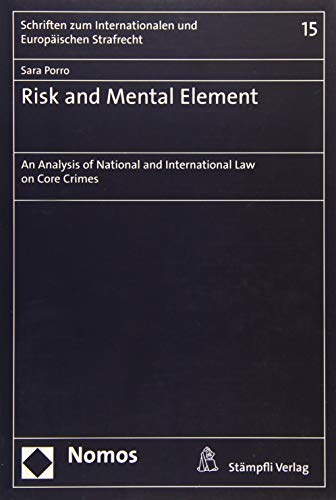 Risk and Mental Element: Sara Porro
