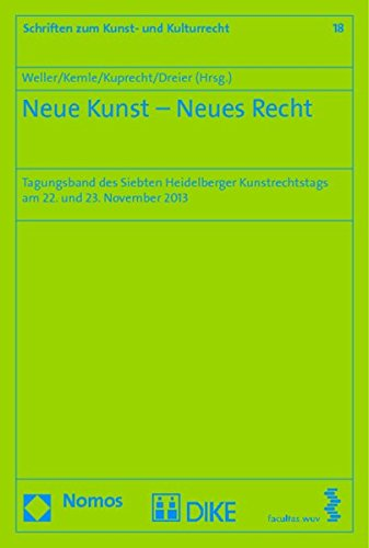 Neue Kunst - Neues Recht: Matthias Weller