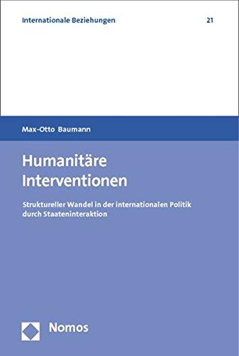 Humanitäre Interventionen: Max-Otto Baumann