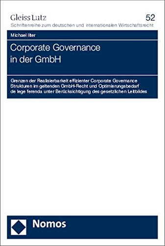 Corporate Governance in der GmbH: Michael Ilter