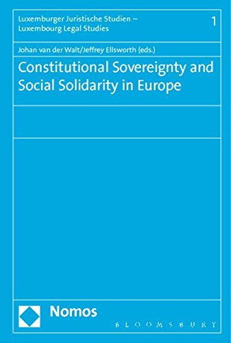 9783848717590: Constitutional Sovereignty and Social Solidarity in Europe