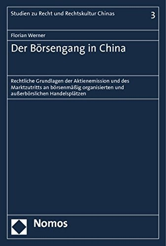 Der Börsengang in China: Florian Werner