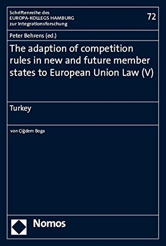 The adaption of competition rules in new and future member states to European Union Law (V): Peter ...